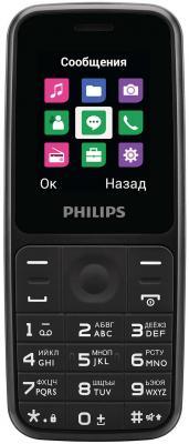 """Мобильный телефон Philips E125 черный 1.77"""""""