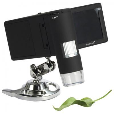 Микроскоп цифровой LEVENHUK DTX 500 Mobi, 20-500 кратный, 3 ЖК-монитор, камера 5 Мп, microSD, портативный, 61023 микроскоп цифровой levenhuk dtx 90