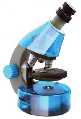 лучшая цена Микроскоп Levenhuk LabZZ M101 Azure