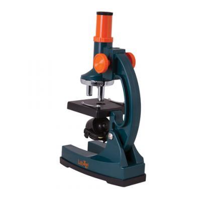 лучшая цена Микроскоп детский LEVENHUK LabZZ M1, 100-300 кратный, монокулярный, 3 объектива, 69739