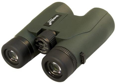 """Бинокль LEVENHUK """",Karma PRO 16x42"""",, увеличение х16, объектив 42 мм, водонепроницаемый, зеленый, 67701"""