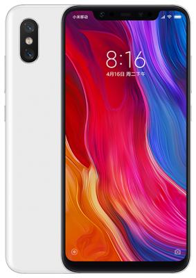 Смартфон Xiaomi Mi 8 64 Гб белый (X20651) цена и фото