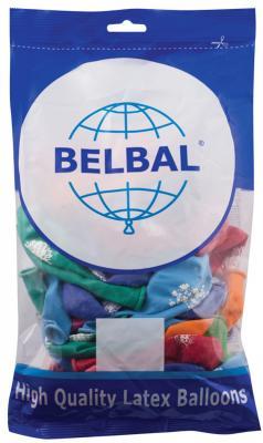 Набор шаров Веселая Затея С Днем Рождения 30 см 50 шт цены онлайн