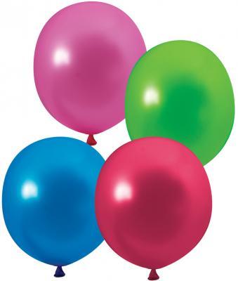 Купить Набор шаров Веселая Затея 1101-0001 25 см 100 шт, Атрибуты для праздника
