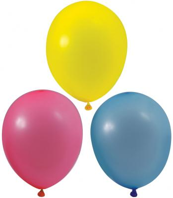 Купить Набор шаров Веселая Затея 1101-0003 25 см 100 шт, Атрибуты для праздника
