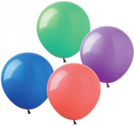 Купить Набор шаров Веселая Затея 1101-0006 30 см 100 шт, Атрибуты для праздника