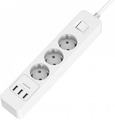 Удлинитель с USB зарядкой HARPER UCH-330