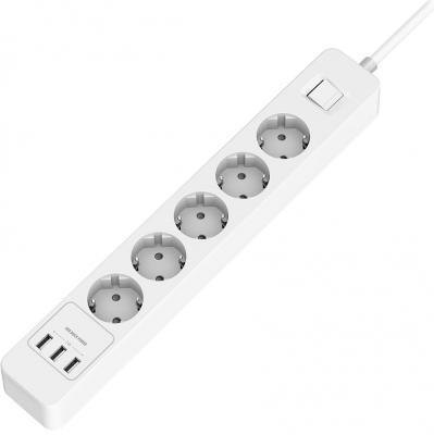 Удлинитель с USB зарядкой HARPER UCH-530
