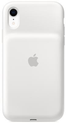 Чехол-аккумулятор Apple Smart Battery Case для iPhone XR белый MU7N2ZM/A gmini mpower case mpcs45f white чехол аккумулятор