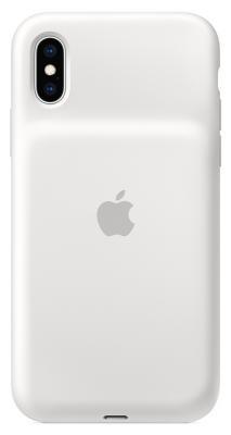 Чехол-аккумулятор Apple Smart Battery Case для iPhone XS белый MRXL2ZM/A аксессуар чехол аккумулятор apple iphone 7 smart battery case black mn002zm a