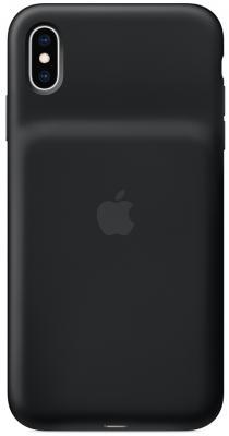 Чехол-аккумулятор Apple Smart Battery Case для iPhone XS Max чёрный MRXQ2ZM/A аксессуар чехол аккумулятор apple iphone 7 smart battery case black mn002zm a