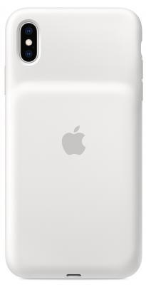 Чехол-аккумулятор Apple Smart Battery Case для iPhone XS Max белый MRXR2ZM/A аксессуар чехол аккумулятор apple iphone 7 smart battery case black mn002zm a