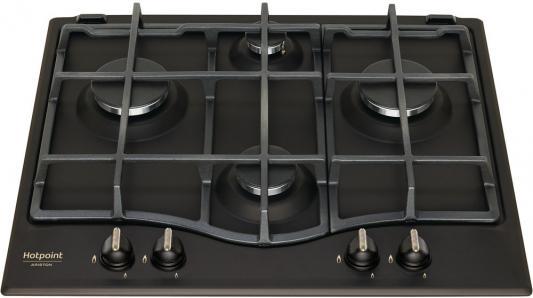Варочная панель газовая Ariston 9YPSN 645(AN) GH R/HA антрацит цена
