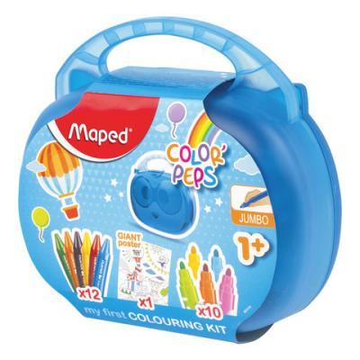 Купить Набор для творчества Maped Color'Peps Jumbo 12 цветов, Прочие краски