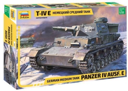 Танк ЗВЕЗДА ТАНК Средний немецкий T-IV (E) 1:35 бежевый
