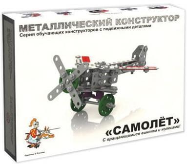 """все цены на Металлический конструктор Десятое королевство """"Самолет"""" 143 элемента онлайн"""