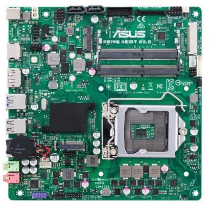 Материнская плата ASUS PRIME H310T R2.0/CSM Socket 1151 v2 H310 2xDDR4 2 mini-ITX Retail mini v2