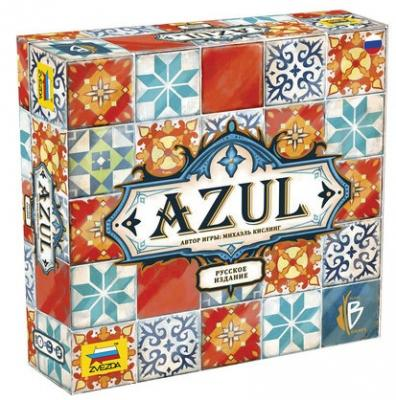 Настольная игра ЗВЕЗДА карточная AZUL звезда настольная игра звезда английский язык простоквашино