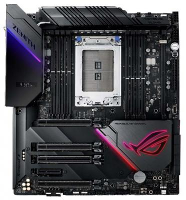 Материнская плата ASUS ROG ZENITH EXTREME ALPHA Socket TR4 AMD X399 8xDDR4 4xPCI-E 16x 1xPCI-E 4x 8 ATX Retail цена и фото