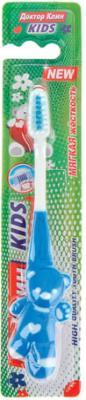 Зубная щетка детская DR.CLEAN Kids (Доктор Клин, Кидс), для 2-4 лет, мягкая, YGIR-478 лакалют зубная щетка кидс от 4 лет