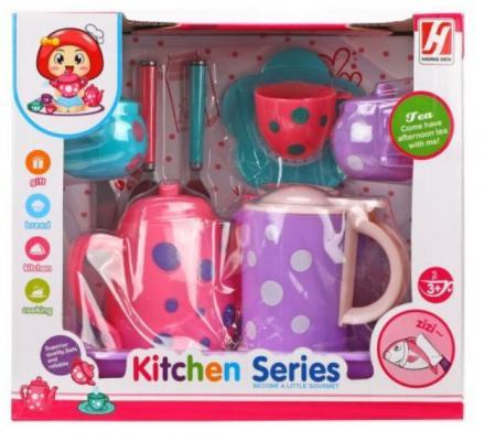 набор посуды Наша Игрушка Набор посуды для чаепития набор для сладкого чаепития пчелка