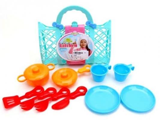 Игровой набор Наша Игрушка Набор посуды пластик набор посуды наша игрушка для чаепития пластик