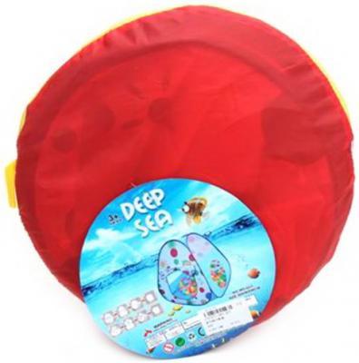 Палатка игровая Полевые цветы, размер 90*90*90см, сумка на молнии