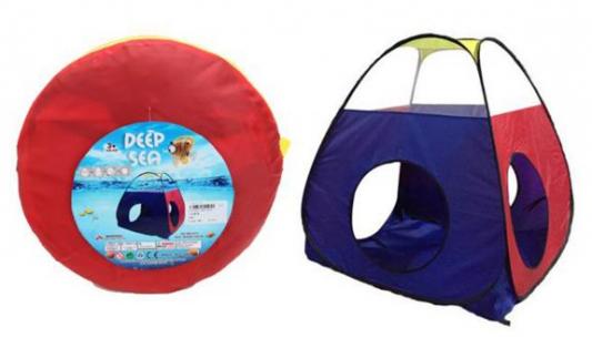 Купить Палатка игровая, размер 100*90*90см, сумка на молнии, Наша Игрушка, разноцветный, Детские домики - палатки