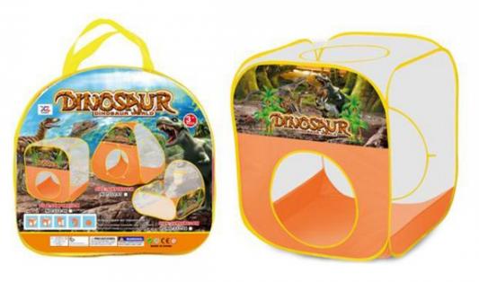 Палатка игровая Мир Динозавров, размер 79*68*68см, сумка на молнии
