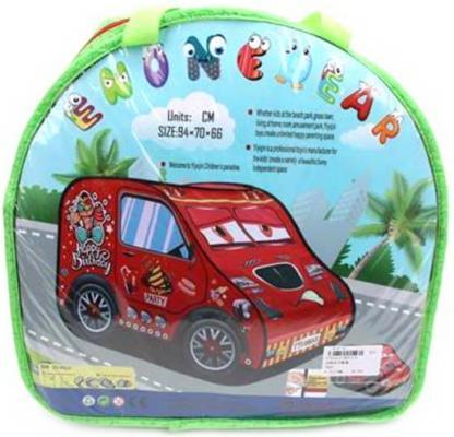 Палатка игровая Машина, размер 94*70*66см, сумка на молнии цена