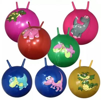 Мяч-попрыгун Наша Игрушка Динозаврик цвет в ассортименте ПВХ