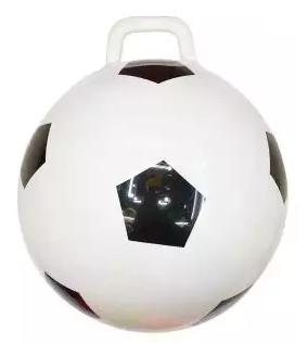Мяч-попрыгун Наша Игрушка Футбол бело-чёрный ПВХ