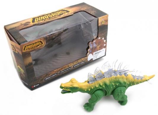 Купить Интерактивная игрушка Наша Игрушка Динозавр от 3 лет, разноцветный, 26 см, пластмасса, для мальчика, Игрушки со звуком
