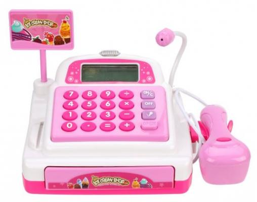Фото - Игровой набор Наша Игрушка Кассовый аппарат со звуком и светом кассовый аппарат игрушечный наша игрушка покупки