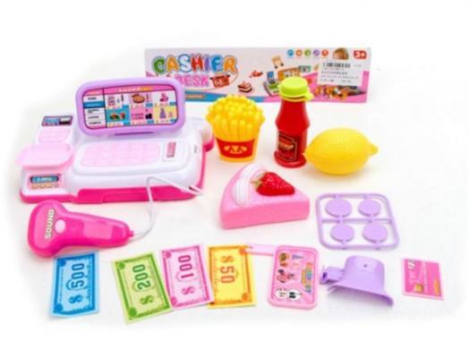 Фото - Кассовый аппарат Наша Игрушка Кассовый аппарат со звуком и светом кассовый аппарат игрушечный наша игрушка покупки