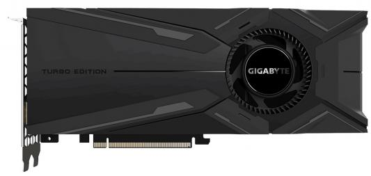Видеокарта GigaByte nVidia GeForce RTX 2080 Ti TURBO OC PCI-E 11264Mb GDDR6 352 Bit Retail (GV-N208TTURBO OC-11GC)