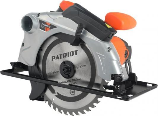 Пила циркулярная PATRIOT CS 212, мощность 1800Вт, пильный диск 210х30 мм
