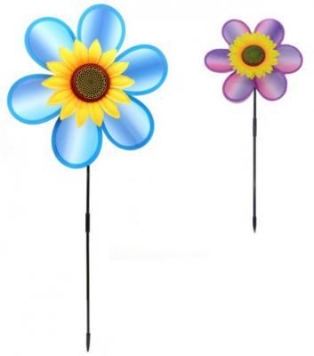 Вертушка Солнечный Цветочек 73 см, ткань