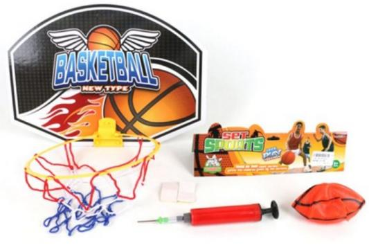 Набор для игры в баскетбол Наша Игрушка Набор для игры в баскетбол 7 предметов