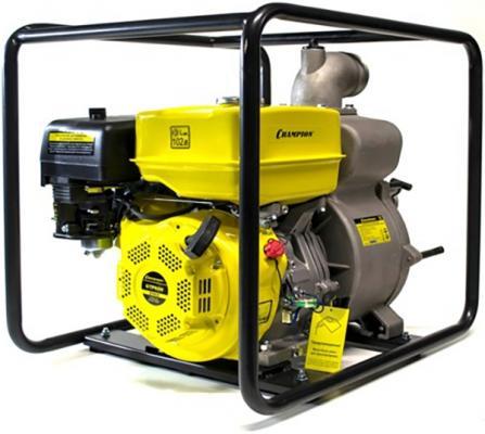 CHAMPION Мотопомпа GTP80H (сильнозагрязненная вода 1300л/мин 8/26м UP177 OHV 9лс 53кг 3) GTP80H Мо