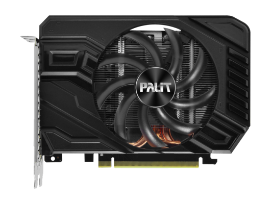 Видеокарта Palit GeForce GTX 1660 StormX OC PCI-E 6144Mb GDDR5 192 Bit Retail (PA-GTX1660 StormX OC 6G) видеокарта 2048mb palit geforce gtx750 pci e stormx oc 128bit ddr5 dvi hdmi crt hdcp ne5x750thd41 2065f oem