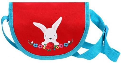 Сумочка декоративная Mary Poppins Lady красный голубой