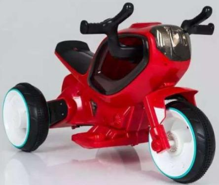Мотоцикл э/ф Олимп красный, 6V4.5AH, 20W