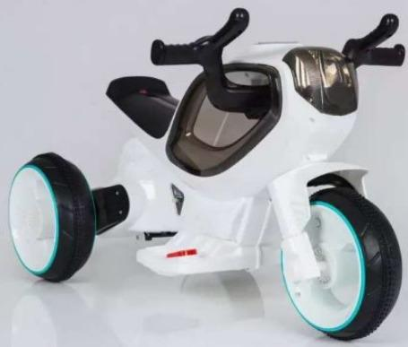 Мотоцикл э/ф Олимп белый, 6V4.5AH, 20W