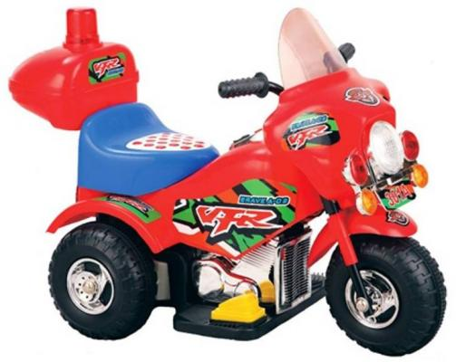 Мотоцикл э/ф Турне красный,  6V4.5AH