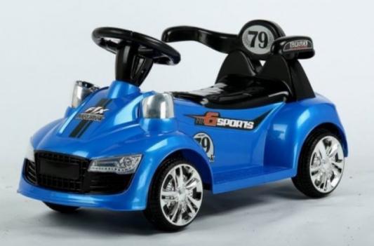 Автомобиль э/ф Маттео, синий, 6V4AH*1