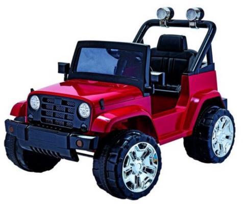Внедорожник эл. красный, свет, звук, аккум.6V/7AH, 25W электромобиль наша игрушка сафари бел свет звук аккум 6v 4 5ah 12w zpv005 white