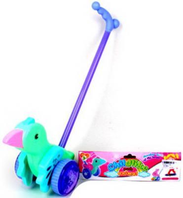 Каталка Наша Игрушка Пташка цвет в ассортименте пластик каталка наша игрушка самолетик y360963