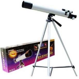 Купить Набор Юный астроном, алюм., телескоп, серебрист., Наша Игрушка, унисекс, Игровые наборы Юный мастер