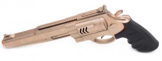 Купить Пистолет Наша Игрушка с трещоткой черный коричневый, черный, коричневый, н/д, для мальчика, Игрушечное оружие